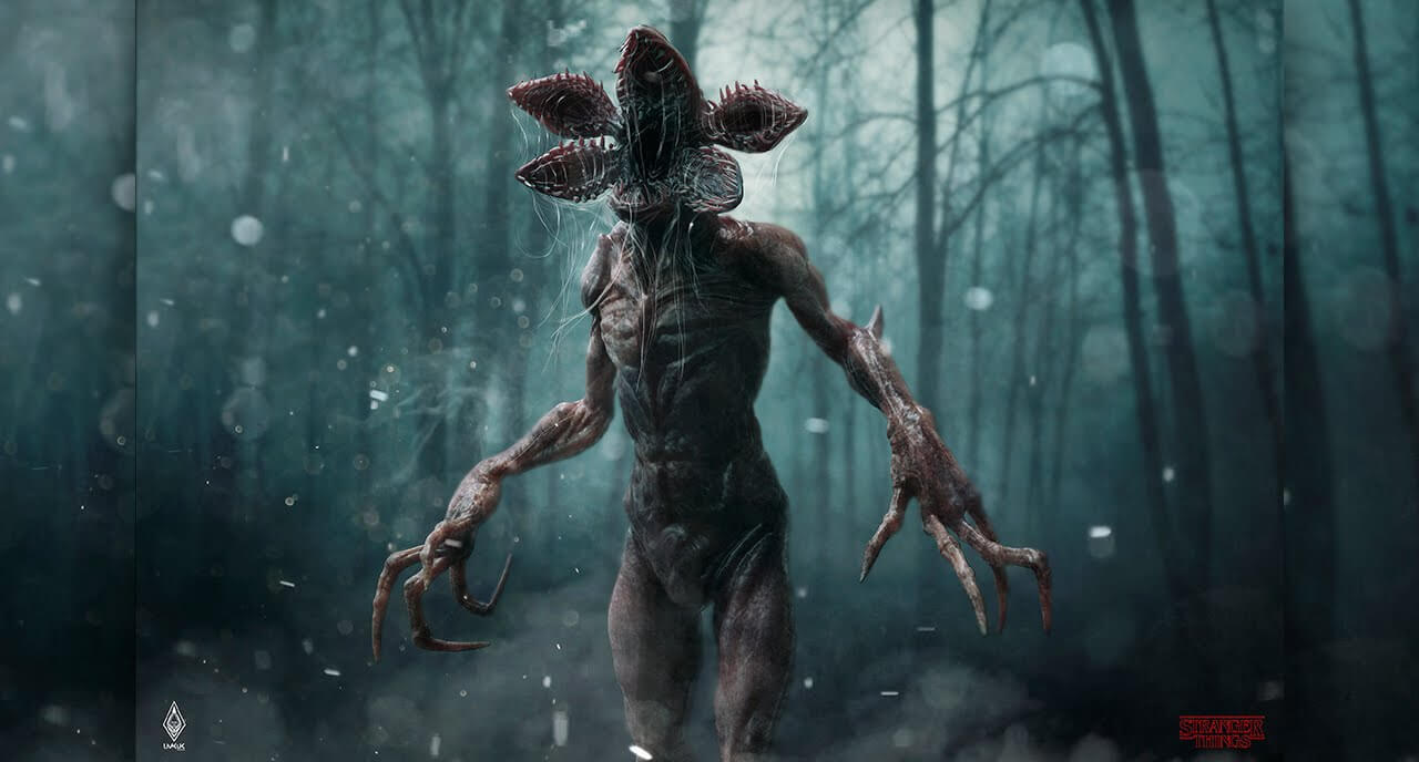 Stranger Things Season 1 Demogorgon