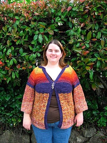Stephanie's Handknit Sweater