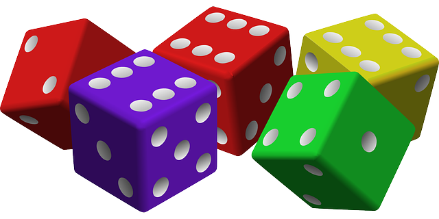 Dice for game design